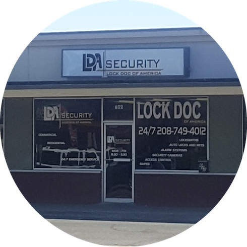 Store Front LDA Security in Twin Falls